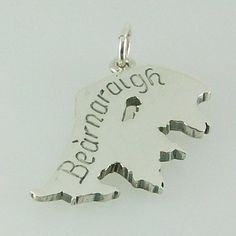 Isle of Berneray pendant hand crafted in sterling silver engraved in gaelic Bearnaraigh. Supplied with a presentation box. Design by Hebridean Jewellery 2017  Hallmarked at the Edinburgh Assay Office 28mm X 18mm 4.6g approx weight