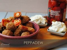 Don't buy your party food from a supermarket when you can find super easy and healthy party food recipes here. From Dips to amazing Finger Food, find the perfect recipe to wow your party guests! Peppadew Peppers, Perfect Food, Finger Foods, A Food, Food Processor Recipes, Vegetarian, Stuffed Peppers, Baking, Breakfast