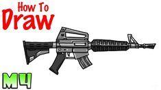 Resultado De Imagen Para M16 Fortnite Drawing Fortnite