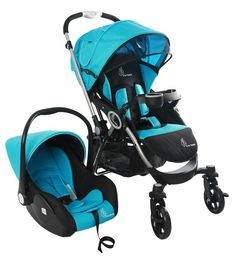 7b351d5a23f Buy R for Rabbit Travel System - Chocolate Ride - Baby Stroller Pram + Infant  Car seat for Baby Kids (Blue Black) Online at Low Prices in India -  Amazon.in