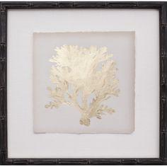 Mirror Image Home Mini Leaf IV Framed Graphic Art & Reviews | Wayfair