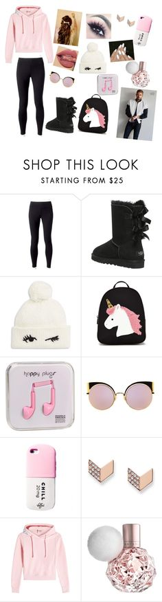 """""""Going To school w/ Emmett"""" by annaconley on Polyvore featuring Jockey, UGG Australia, GET LOST, Kate Spade, Forever 21, Happy Plugs, Fendi, Valfré, FOSSIL and Vetements"""
