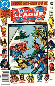 Cover for Justice League of America (DC, 1960 series) #207