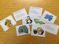 Auditory Zoo: Auditory Memory Activities for Sentences, Riddles, and Stories.