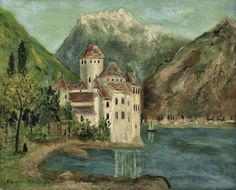 Maurice Utrillo (1883 - 1955) The Castle Chillon (Suisse), 1916