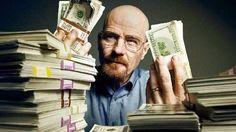 Breaking Bad Walter White Cash Poster Standup 4inx6in