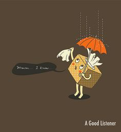 A good listener by ILoveDoodle, via Flickr