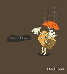 A good listener by ILoveDoodle, via Flickr