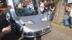 Cars and Coffee Brescia 2017 -2: Bugatti EB110 GT, Shmee150, Diablo SV...!