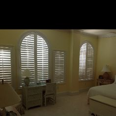 Plantation shutters by Affordable Blinds and More of Wilmington, NC  http://www.affordableblindsandmore.com