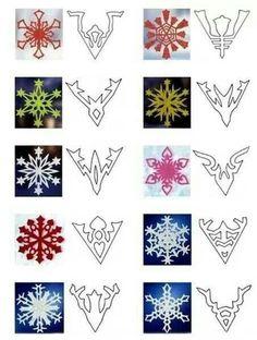Snow flake trick