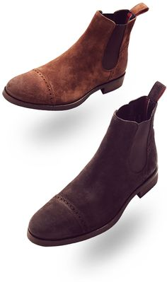 Could make great riding boots if they weren't suede, nevertheless, awesome.
