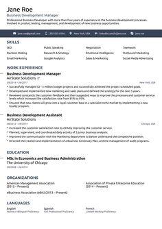 resume xml format 3 resume format pinterest resume format