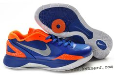 new product d5a1f ad07b 2011 Nike Zoom Hyperdunk Low Shoes Blue Orange Gray Nike Socks, Nike Kd  Shoes,