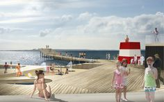 JDS Architects / Faaborg Harbour Bath in Faaborg, Denmark / Ready for action in the summer of 2013 / http://jdsa.eu/fab