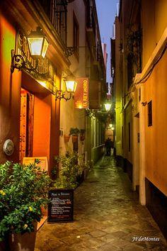 Sevilla. Casco antiguo. Barrio de Santa Cruz. La Judería
