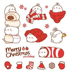 Merry Christmas with Molang.