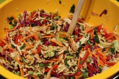 For the past few months, I've been really enjoying cole slaw. I absolutely love the Mustardy Cole Slaw recipe I shared a while back, and it inspired me to try a few more! Now, the curried cole slaw concoction I whipped up was horrible… like MAJOR food flop. But it's Asian cousin? Absolutely delicious!! I...Read More »