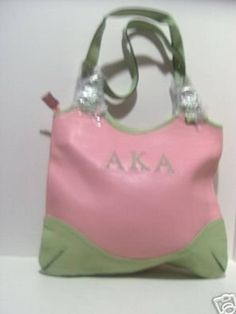 Details about Alpha Kappa Alpha Sorority Inc. Tote Sholder Bag ...