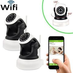Security Mini IP Camera, UOKOO Home Surveillance Camera Wireless IP Camera With Built In Microphone WiFi Security Camera, Baby Video Monitor Nanny Cam,Motion Detection Wireless Home Security Cameras, Home Security Alarm, Wireless Ip Camera, Home Security Tips, Wireless Home Security Systems, House Security, Video Security, Best Waterproof Camera, Security Equipment