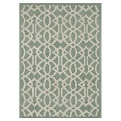 Hand-tufted wool rug with a trellis-inspired motif.   Product: RugConstruction Material: 100% Wool pileCol...