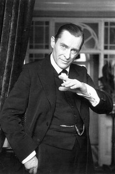 Jeremy Brett - The quintessential victorian Sherlock Holmes.