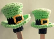Leprechaun hats  FREE PATTERN as at 14th June 2015