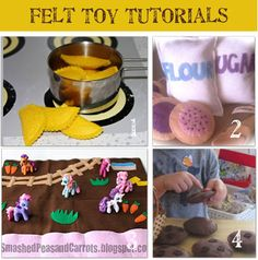 Felt Toy Tutorials
