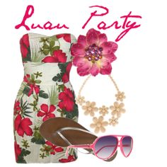 Hawaiian themed party outfit?...or just a cute summer outfit.