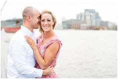 Rainy Day Baltimore Maryland Engagement Session // Hope Taylor Photography