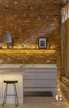 Led Strip Lighting Ideas Projects Bar Ideas For 2019 Under Shelf Lighting, Strip Lighting, Lighting Ideas, Shelf Lights, Bed Lights, Bar Lighting, Kitchen Sink Lighting, Cabinet Lighting, Led Profil