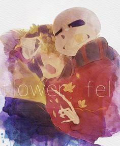 Sans x Frisk Comic - 82 - FlowerFell - Page 3 - Wattpad Undertale Cosplay, Undertale Fanart, Undertale Comic, Undertale Pictures, Undertale Drawings, Flowerfell Comic, Sans X Frisk Comic, Underfell Sans, Frans Undertale