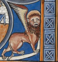 """Detail from """"The Rutland Psalter"""", medieval (c1260), British Library Add MS 62925. f 112v"""