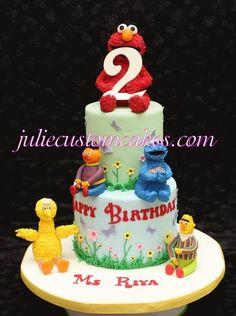 Sesame Street  Cake by twinmomgirl