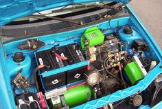 Electric car - Under the hood