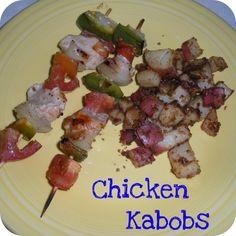 Grilled Chicken Kabobs!
