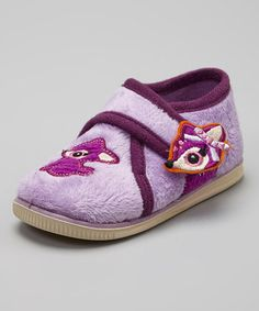 Love this Purple Binki Slipper by Foamtreads on #zulily! #zulilyfinds