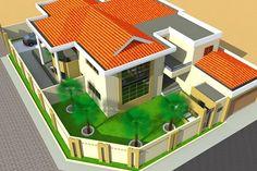 Projet de construction d'une villa tybe a Malabo-Guinnee equatoriale, Malabo, Albert Kwessi