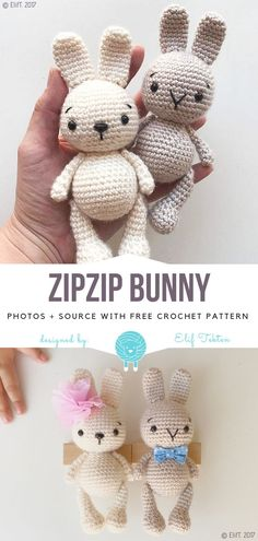 Mesmerizing Crochet an Amigurumi Rabbit Ideas. Lovely Crochet an Amigurumi Rabbit Ideas. Easter Crochet Patterns, Crochet Bunny Pattern, Crochet Amigurumi Free Patterns, Crochet Baby, Free Crochet, Knitting Patterns, Knitting Toys, Crochet Teddy, Free Knitting