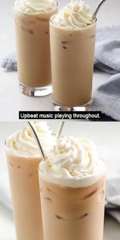 Iced White Chocolate Mocha, Café Chocolate, Starbucks Iced White Mocha Recipe, Starbucks Coffee, Ice Chocolate Drink, Iced Mocha Coffee, White Chocolate Recipes, Starbucks Drinks, White Coffee