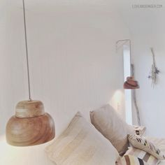 DIY pendant light tutorial (wooden bowls fropm Briscoes) www.loveandginger.com