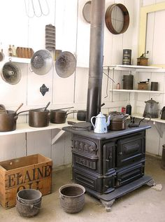 old woodstove