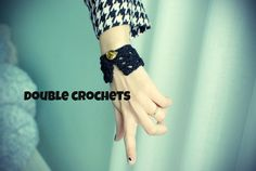 lacy cuff by Double Crochets