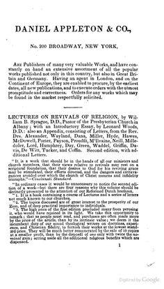 """Daniel Appleton & Co."" from The Philosophy of Sleep by Robert Macnish (1834)"