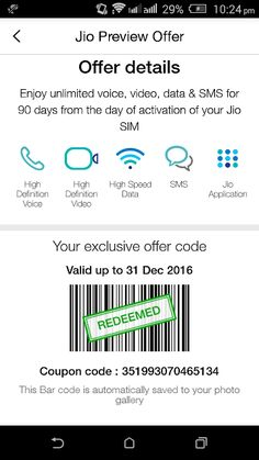 Get Reliance Jio Sim in 3G Mobile Phone