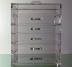 Kardashian Clear Cube Storage