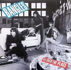 Bangles ‎- All Over The Place CANADA 1984 Lp nm more mint