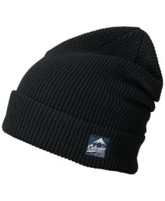 Columbia Men s Lost Lager Waffle Beanie - Black 9dbd1f7d25e2