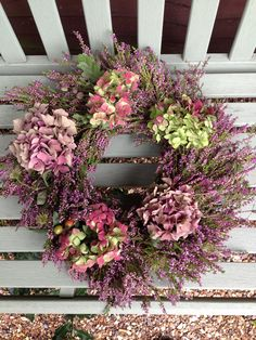 Isle of Mull Foraged Autumn Wreath