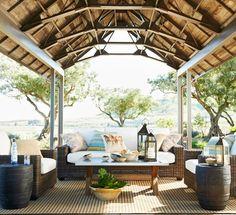 Outdoor spaces. via COCOCOZY: PLEASING PATIOS